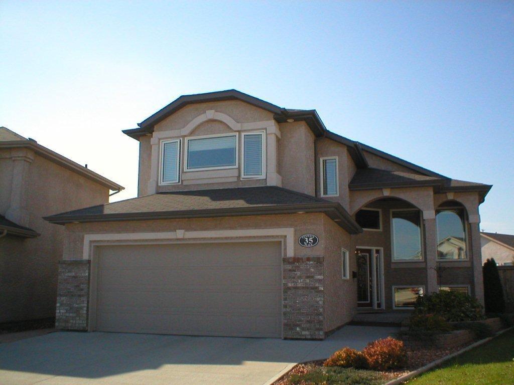 Main Photo: 35 Fenwick Place in Winnipeg: Fort Garry / Whyte Ridge / St Norbert Single Family Detached for sale (South Winnipeg)  : MLS®# 1020133