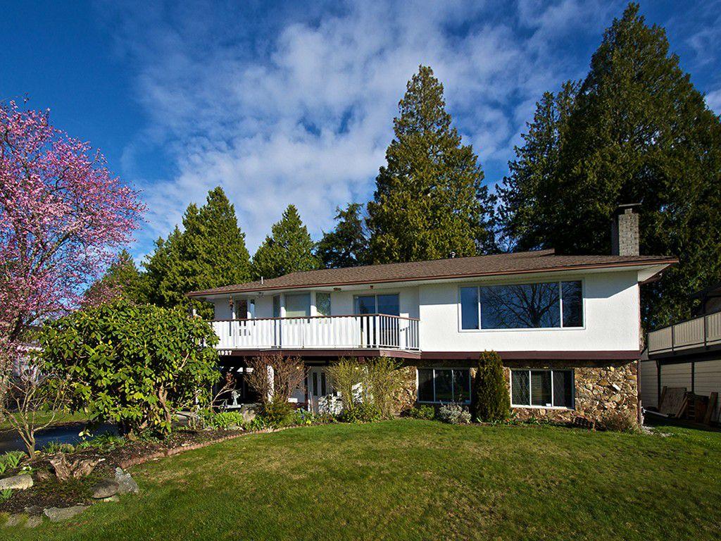 Main Photo: 4927 4TH Avenue in Tsawwassen: Pebble Hill House for sale : MLS®# V1054826