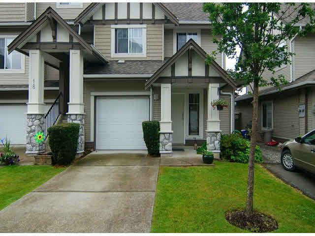 """Main Photo: 19 18181 68TH Avenue in Surrey: Cloverdale BC Townhouse for sale in """"Magnolia"""" (Cloverdale)  : MLS®# F1414915"""
