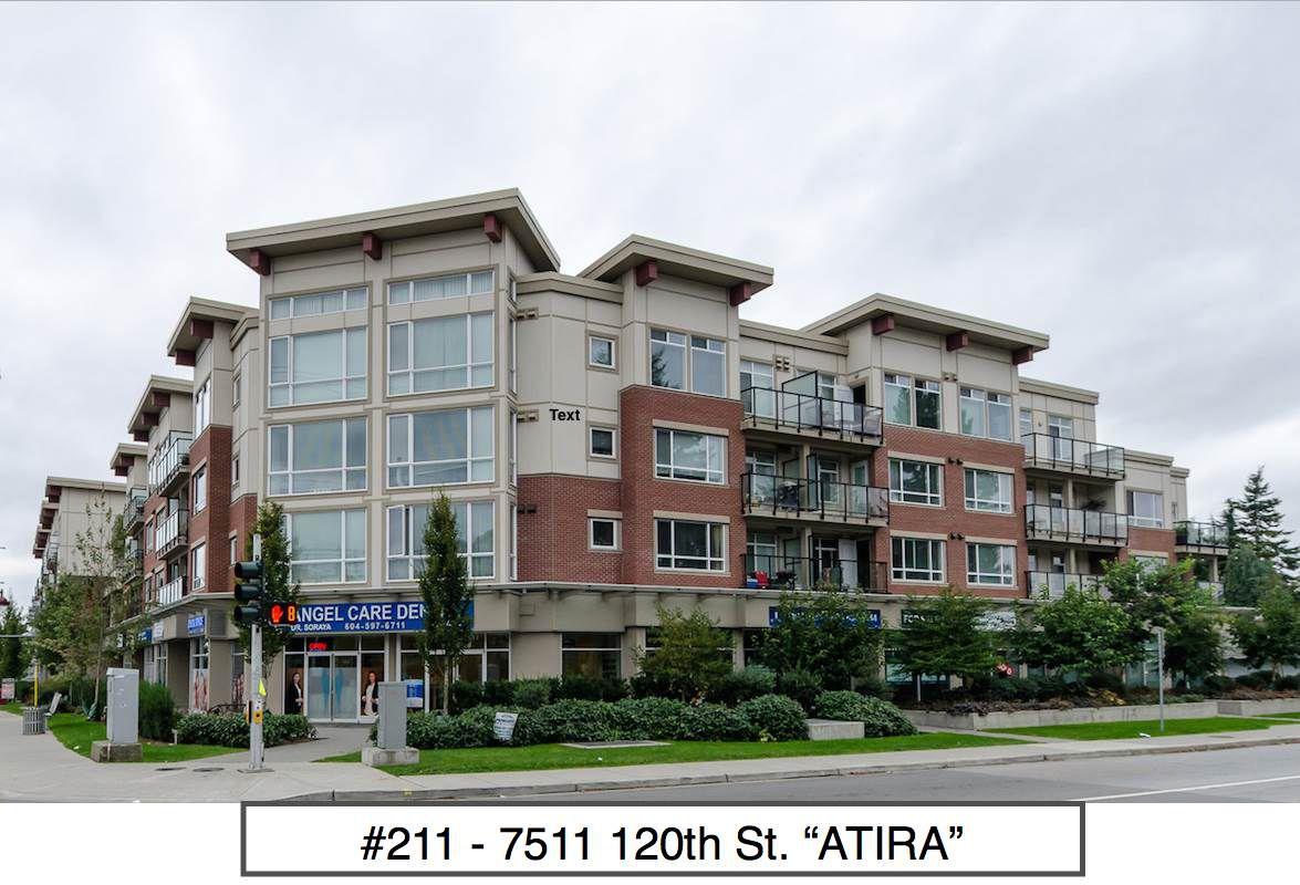 "Main Photo: 211 7511 120 Street in Delta: Scottsdale Condo for sale in ""ATRIA"" (N. Delta)  : MLS®# R2001802"