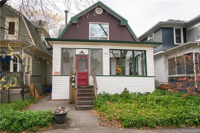 Main Photo: 88 Evanson Street in Winnipeg: Wolseley Residential for sale (5B)  : MLS®# 1727814
