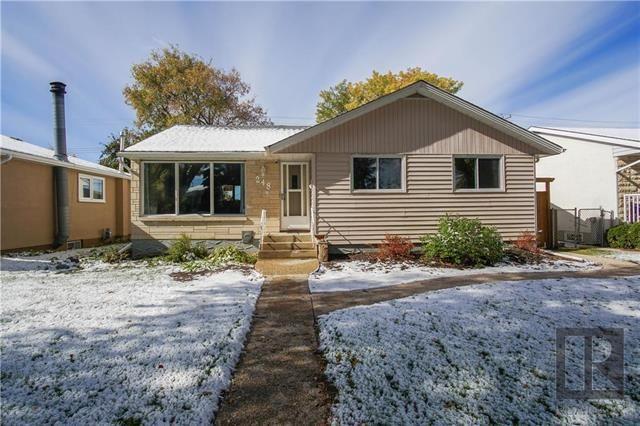 Main Photo: 248 Rita Street in Winnipeg: Silver Heights Residential for sale (5F)  : MLS®# 1827474