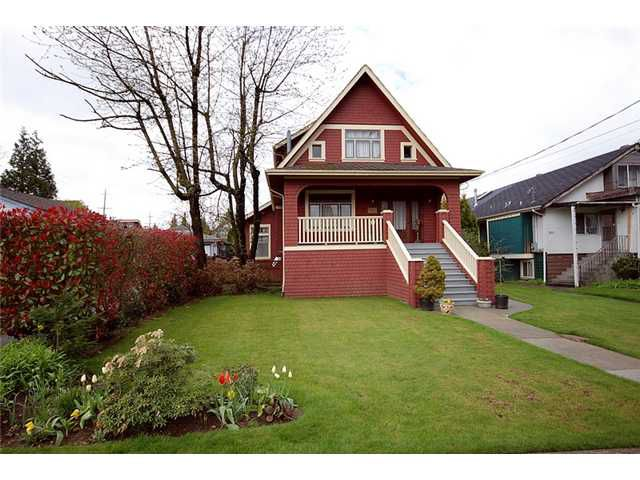 Main Photo: 808 5TH Street in New Westminster: GlenBrooke North House for sale : MLS®# V884755