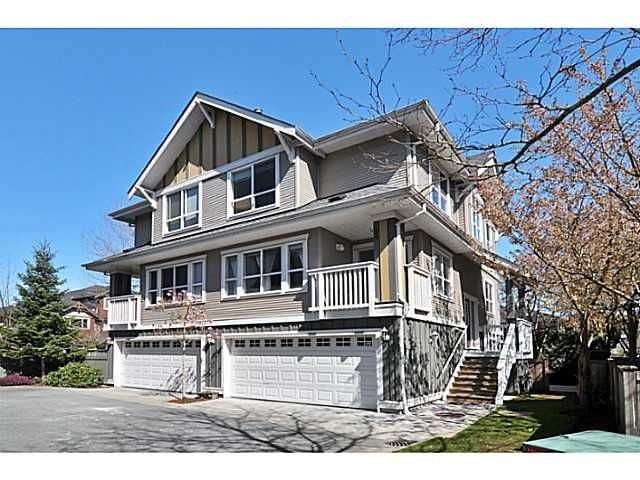 """Main Photo: 11 7833 HEATHER Street in Richmond: McLennan North Townhouse for sale in """"BELMONT"""" : MLS®# V1058513"""