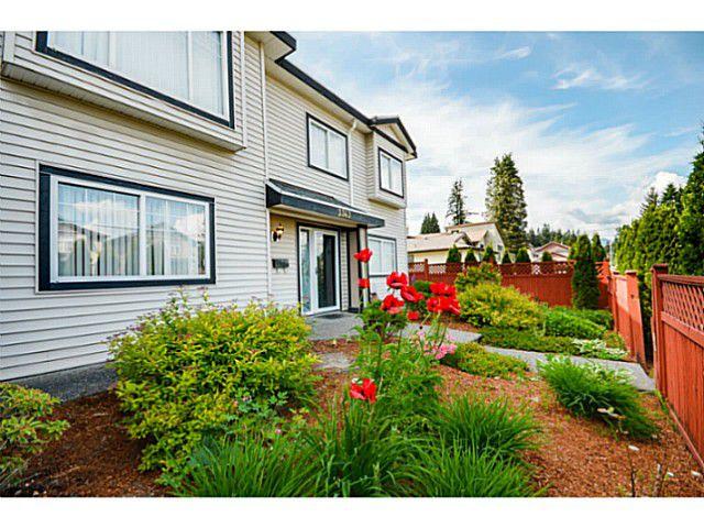 Main Photo: 3343 WELLINGTON Street in Port Coquitlam: Glenwood PQ House 1/2 Duplex for sale : MLS®# V1066787