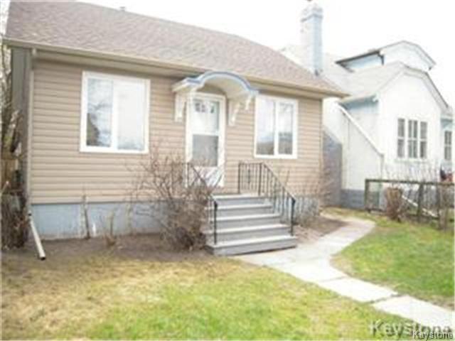 Main Photo: 404 Manitoba Avenue in WINNIPEG: North End Residential for sale (North West Winnipeg)  : MLS®# 1427269
