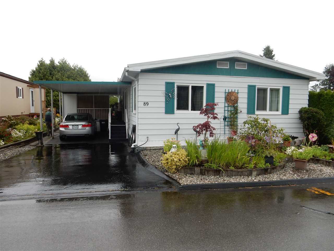 """Main Photo: 89 15875 20 Avenue in Surrey: King George Corridor Manufactured Home for sale in """"Searidge Bays"""" (South Surrey White Rock)  : MLS®# R2082414"""