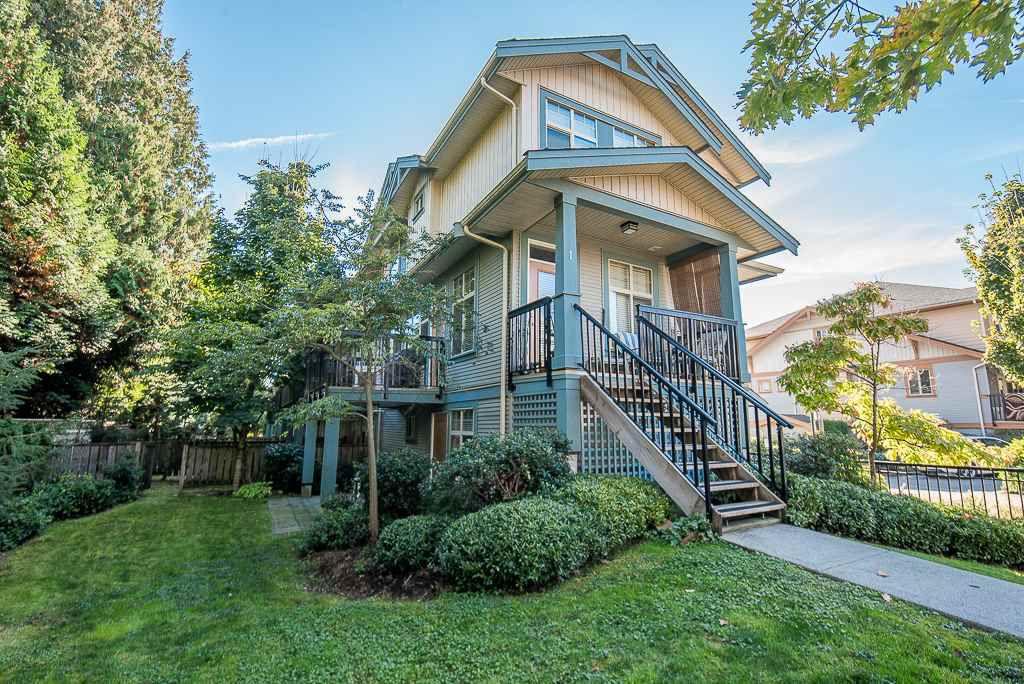 "Main Photo: 1 12036 66 Avenue in Surrey: West Newton Townhouse for sale in ""DUBB VILLA ESTATES"" : MLS®# R2315991"