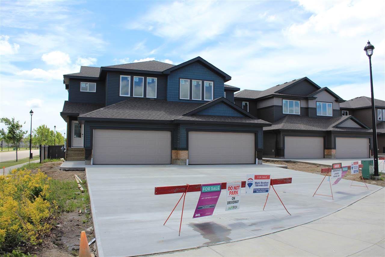 Main Photo: 402 GENESIS Court: Stony Plain House Half Duplex for sale : MLS®# E4136771