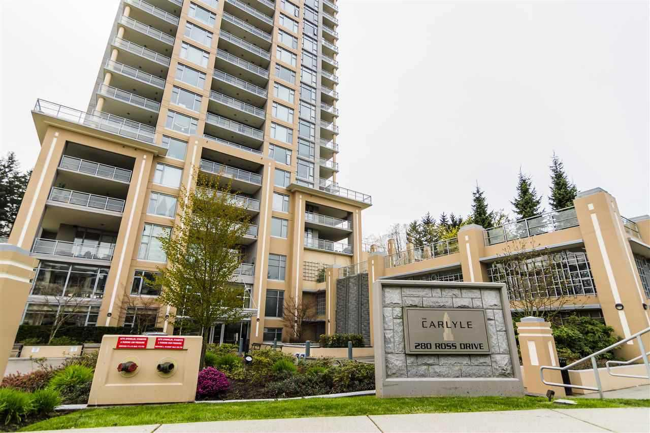 "Main Photo: 1406 280 ROSS Drive in New Westminster: Fraserview NW Condo for sale in ""CARLYLE"" : MLS®# R2325375"