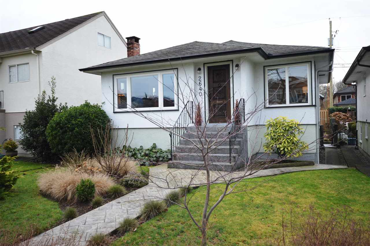 Main Photo: 2640 VENABLES Street in Vancouver: Renfrew VE House for sale (Vancouver East)  : MLS®# R2331610