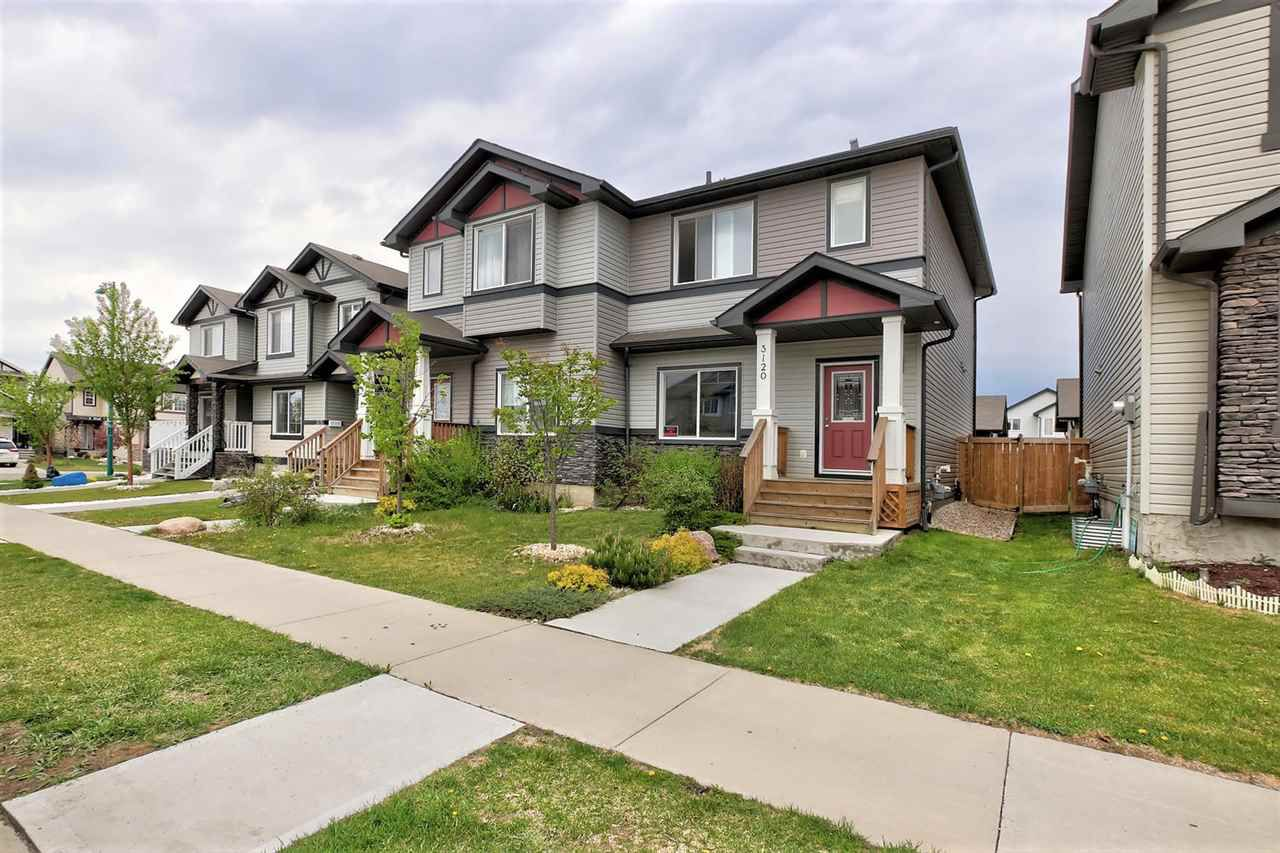 Main Photo: 3120 17 Avenue in Edmonton: Zone 30 House Half Duplex for sale : MLS®# E4158738