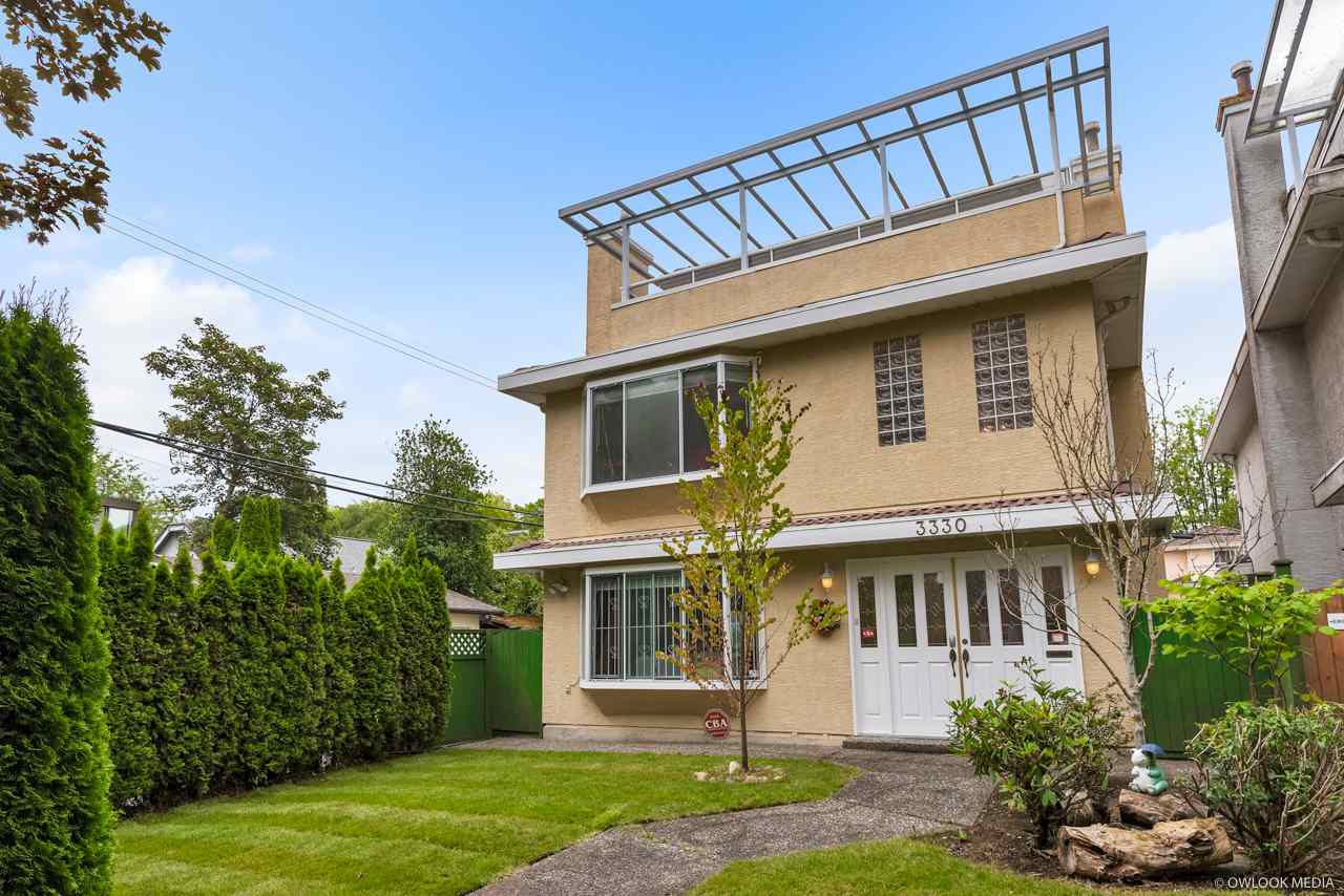 Main Photo: 3330 W 23RD Avenue in Vancouver: Dunbar House for sale (Vancouver West)  : MLS®# R2387592
