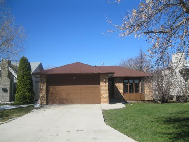 Main Photo: 70 OPTIMIST Way in WINNIPEG: Westwood / Crestview Residential for sale (West Winnipeg)  : MLS®# 1107886