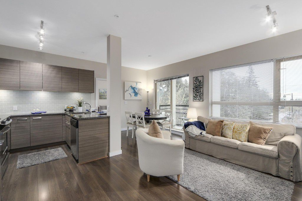 """Main Photo: 313 13228 OLD YALE Road in Surrey: Whalley Condo for sale in """"Connect"""" (North Surrey)  : MLS®# R2121613"""