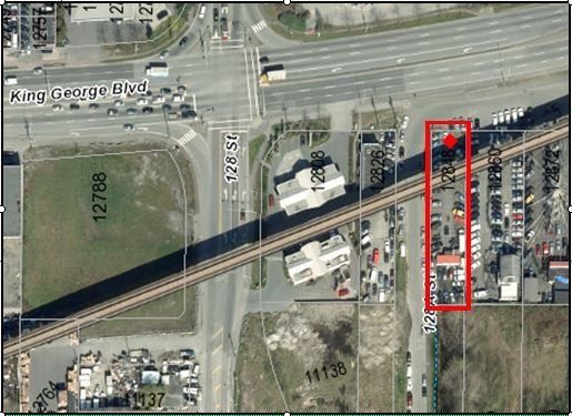 Main Photo: 12848 112 Avenue in Surrey: Whalley Land Commercial for sale (North Surrey)  : MLS®# C8011899