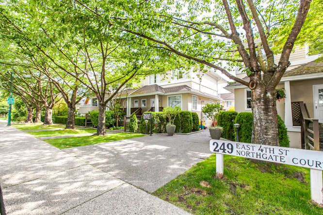 Main Photo: 8 249 E 4th Street in North Vancouver: Lower Lonsdale Townhouse for sale : MLS®# R2117542