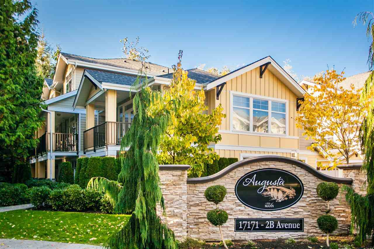 """Main Photo: 2 17171 2B Avenue in Surrey: Pacific Douglas Townhouse for sale in """"AUGUSTA"""" (South Surrey White Rock)  : MLS®# R2212521"""