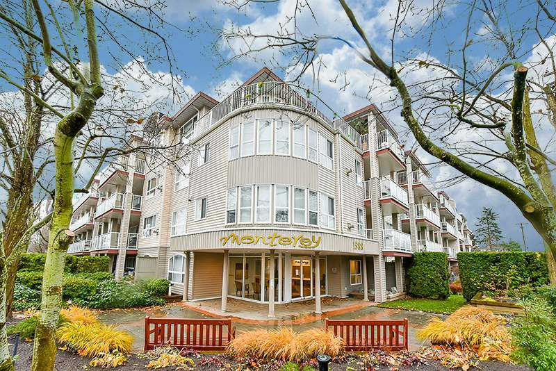 """Main Photo: 111 1588 BEST Street: White Rock Condo for sale in """"THE MONTEREY"""" (South Surrey White Rock)  : MLS®# R2222931"""