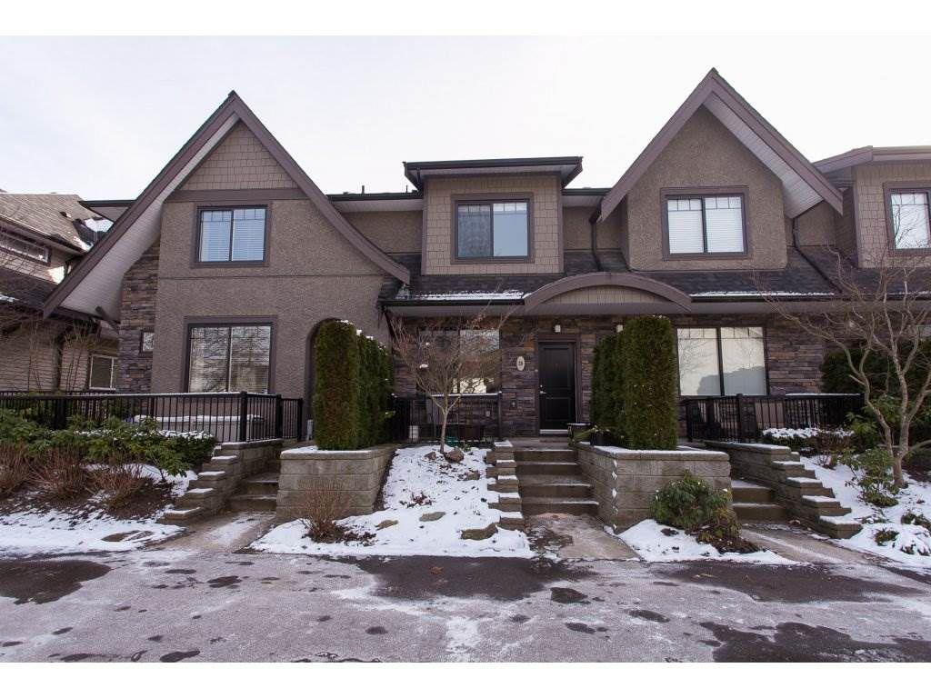 "Main Photo: 39 6895 188 Street in Surrey: Clayton Townhouse for sale in ""Bella Vita"" (Cloverdale)  : MLS®# R2241296"