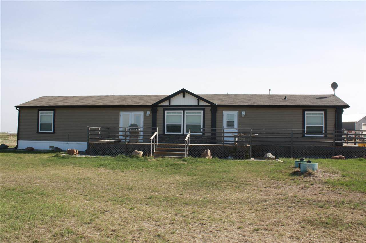 Main Photo: 551076 RRD 194: Rural Lamont County Manufactured Home for sale : MLS®# E4100457