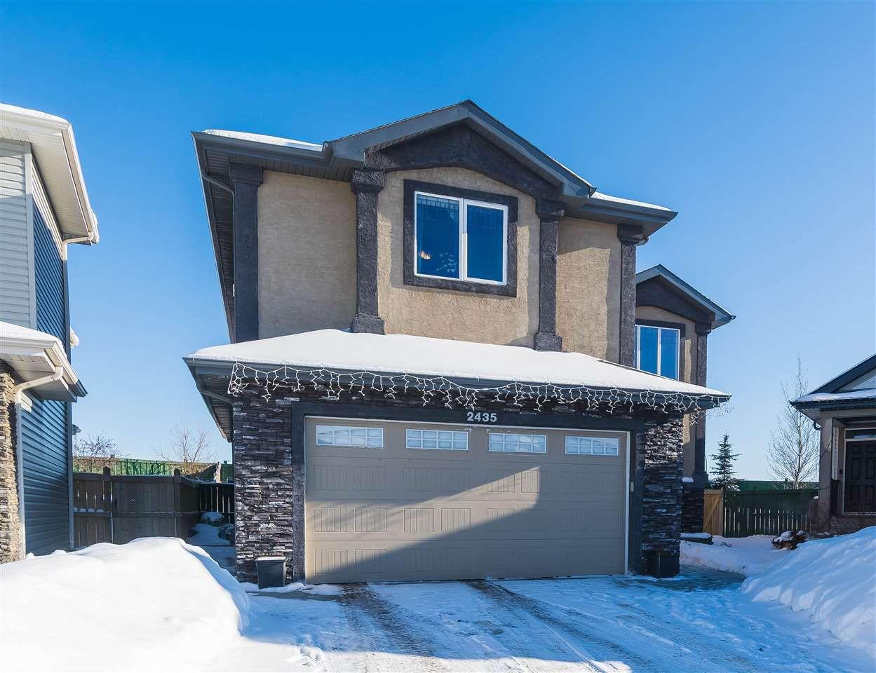 Main Photo: 2435 HAGEN Way in Edmonton: Zone 14 House for sale : MLS®# E4145137