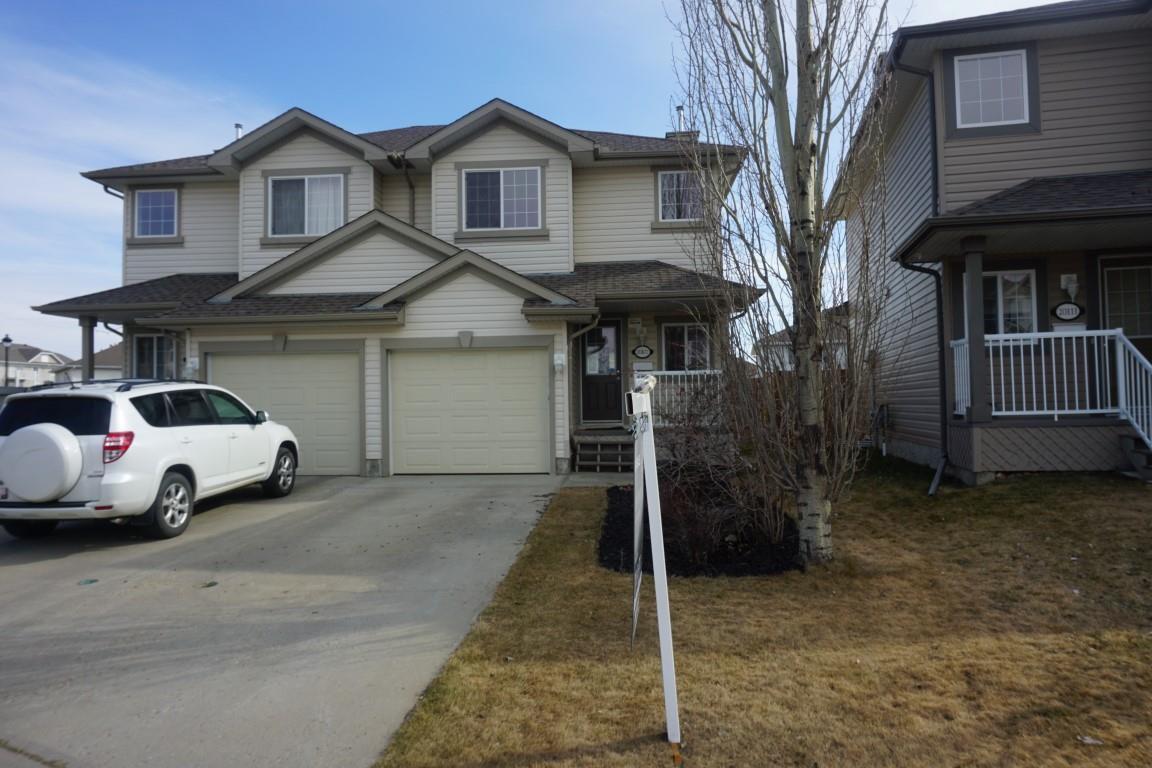 Main Photo: 20107 56 Avenue in Edmonton: Zone 58 House Half Duplex for sale : MLS®# E4147042