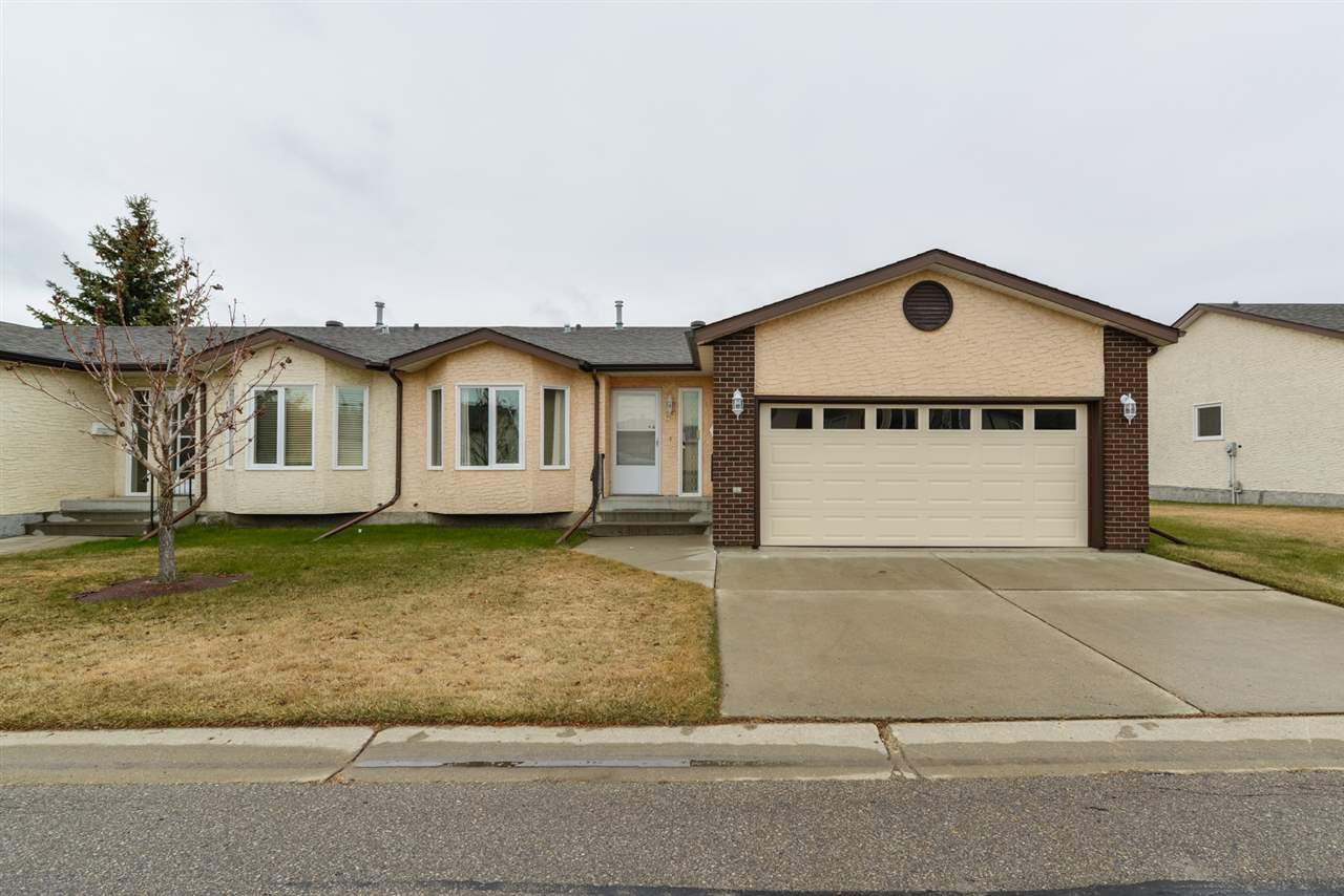 Main Photo: 61 SUNRISE Village: Stony Plain House Half Duplex for sale : MLS®# E4155745