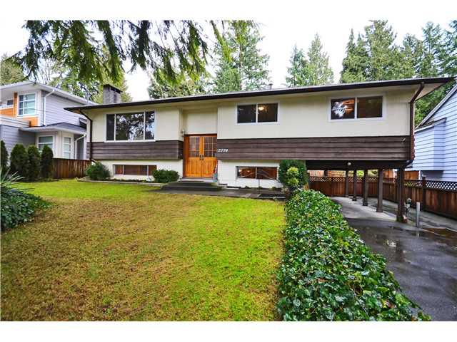 Main Photo: 2774 WILLIAM Avenue in North Vancouver: Lynn Valley House for sale : MLS®# V1041458
