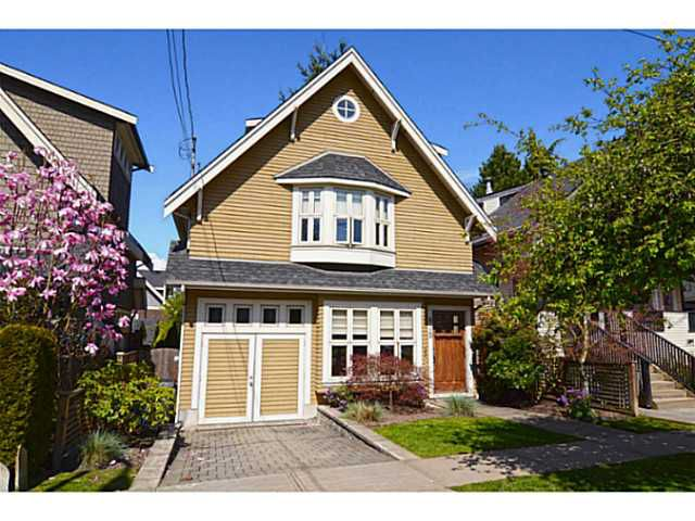 """Main Photo: 875 W 24TH Avenue in Vancouver: Cambie House for sale in """"DOUGLAS PARK"""" (Vancouver West)  : MLS®# V1057982"""