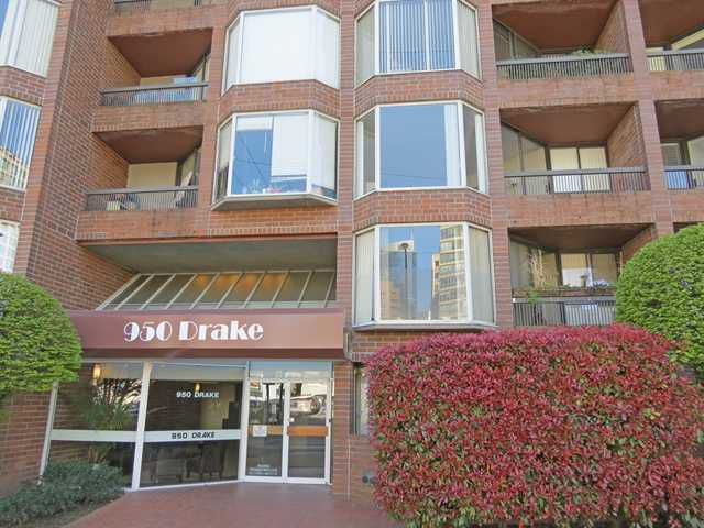 """Main Photo: 308 950 DRAKE Street in Vancouver: Downtown VW Condo for sale in """"ANCHOR POINT 2"""" (Vancouver West)  : MLS®# V1059674"""