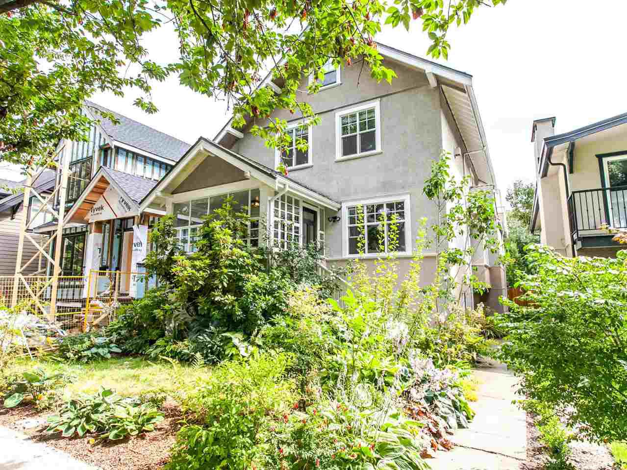 Main Photo: 578 W 18TH Avenue in Vancouver: Cambie House for sale (Vancouver West)  : MLS®# R2098152