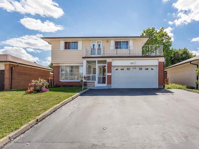 Main Photo: 113 Mount Olive Drive in Toronto: Mount Olive-Silverstone-Jamestown House (2-Storey) for sale (Toronto W10)  : MLS®# W3605229