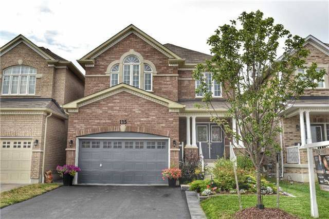 Main Photo: 115 Sharplin Drive in Ajax: South East House (2-Storey) for sale : MLS®# E4236384