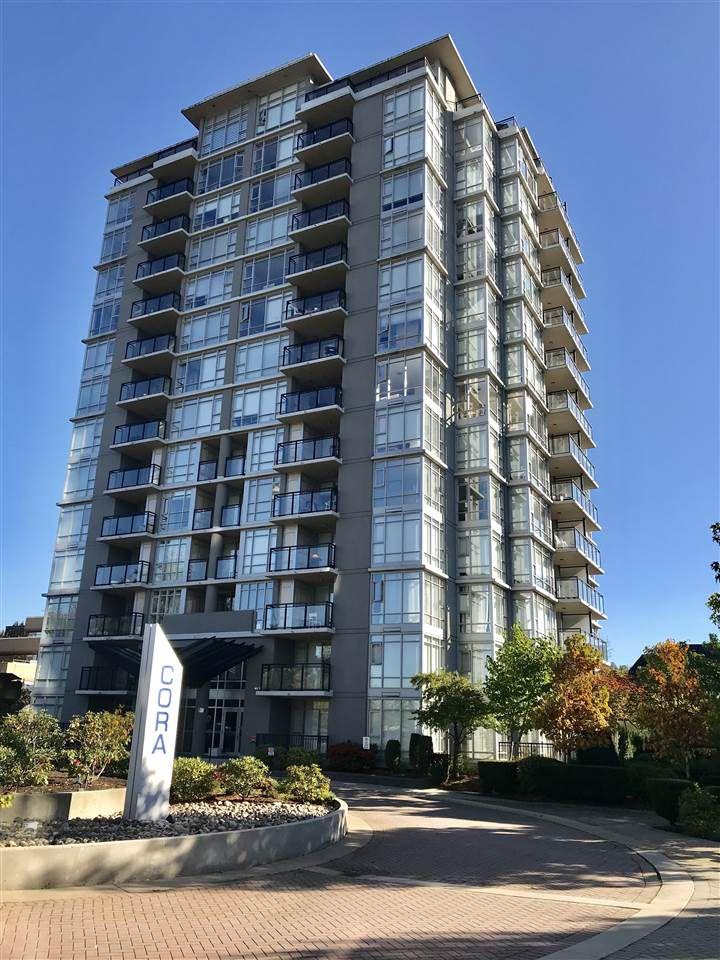 "Main Photo: 801 575 DELESTRE Avenue in Coquitlam: Coquitlam West Condo for sale in ""CORA TOWERS"" : MLS®# R2317122"