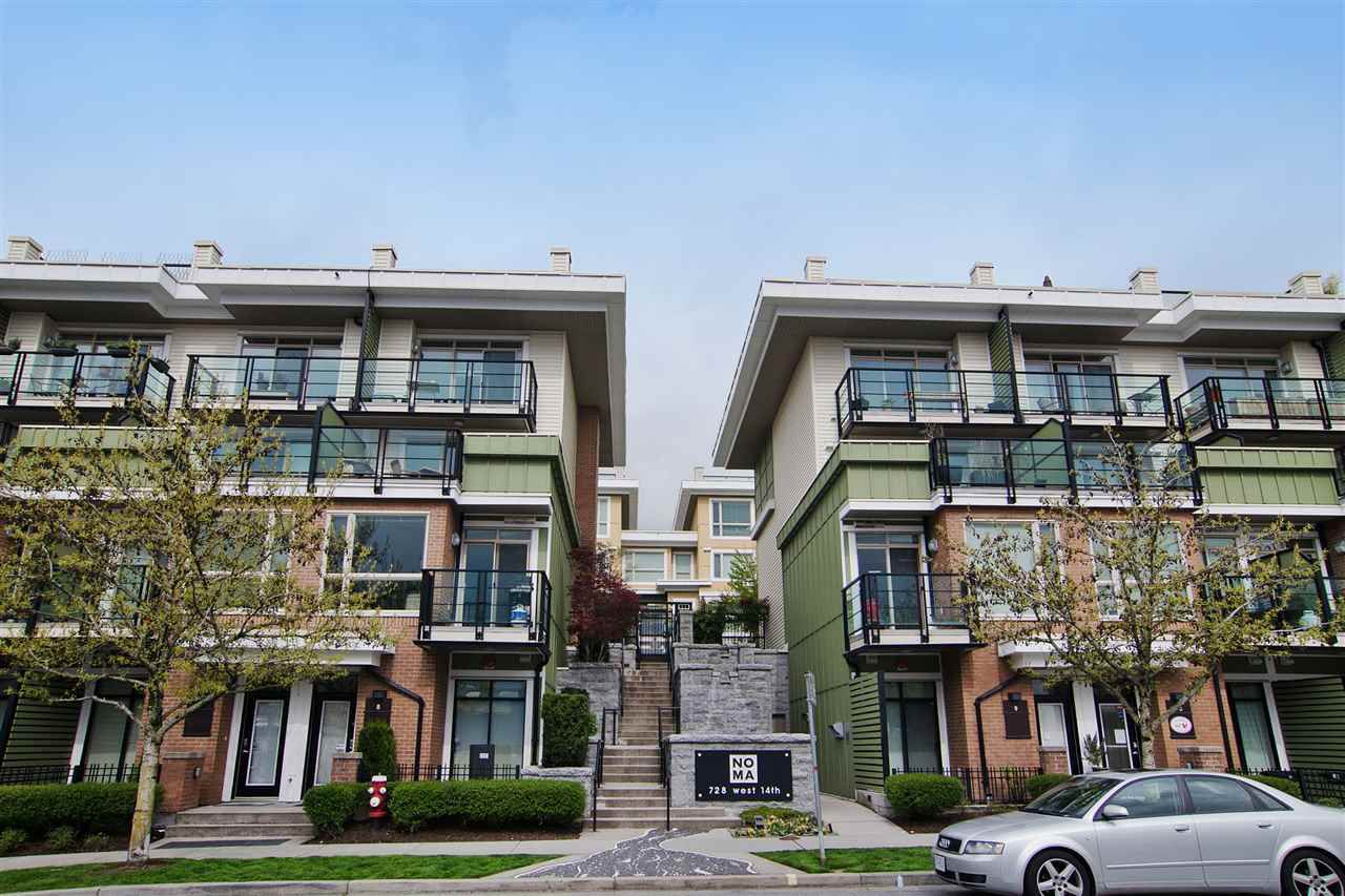 "Main Photo: 35 728 W 14TH Street in North Vancouver: Hamilton Townhouse for sale in ""Noma"" : MLS®# R2325046"