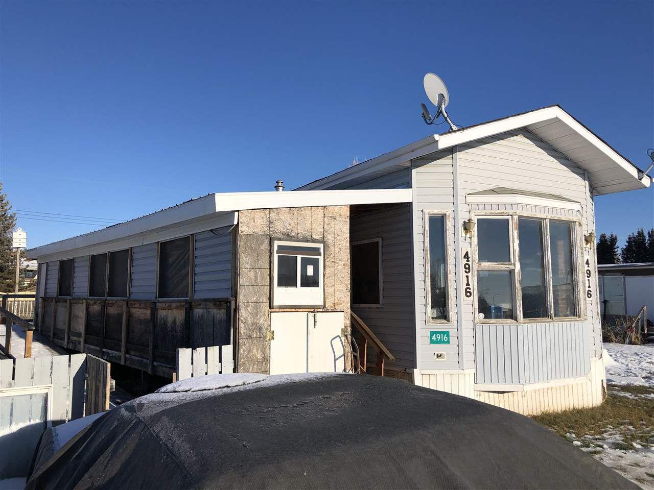 Main Photo: 4916 48 Avenue: Vimy Manufactured Home for sale : MLS®# E4137138