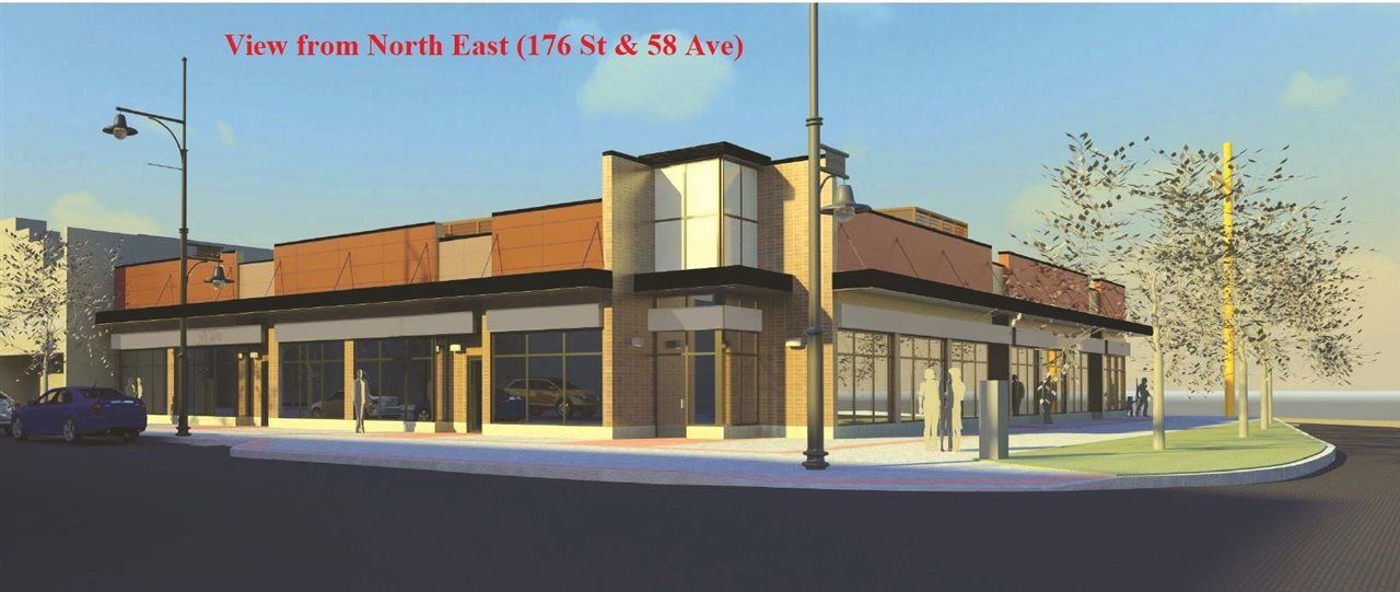 Main Photo: 3 5795 176 Street in Surrey: Cloverdale BC Retail for lease (Cloverdale)  : MLS®# C8022785