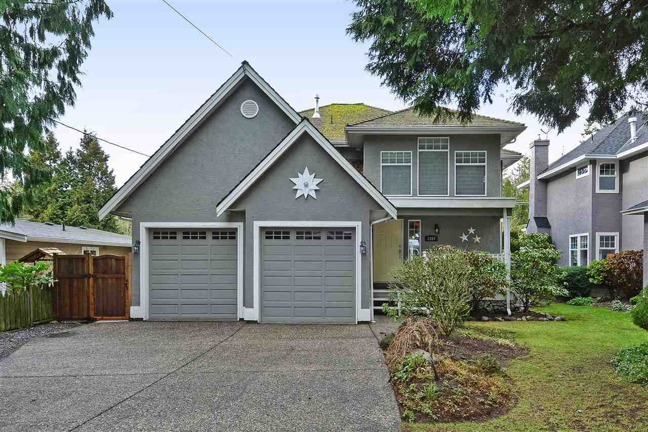 "Main Photo: 1397 128A Street in Surrey: Crescent Bch Ocean Pk. House for sale in ""OCEAN PARK"" (South Surrey White Rock)  : MLS®# R2339025"