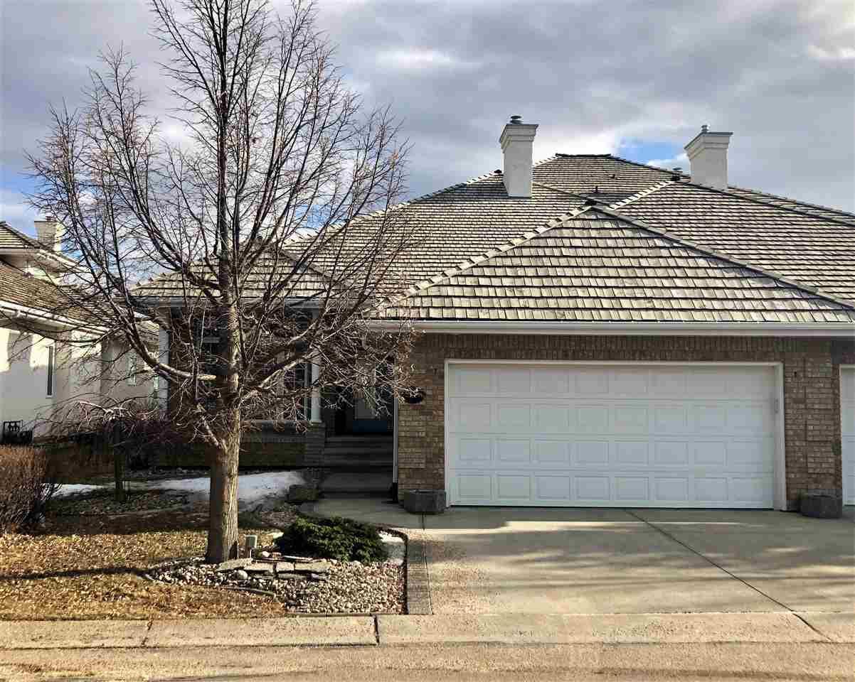 Main Photo: 17 BUTTERWORTH Point in Edmonton: Zone 14 House Half Duplex for sale : MLS®# E4149840