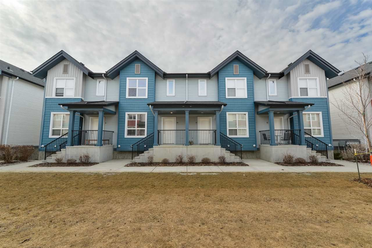 Main Photo: 6075 SCHONSEE Way in Edmonton: Zone 28 Townhouse for sale : MLS®# E4151628