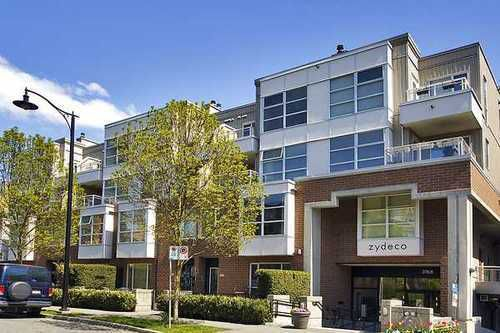 Main Photo: 322 2768 CRANBERRY Drive in Vancouver West: Kitsilano Home for sale ()  : MLS®# V940896