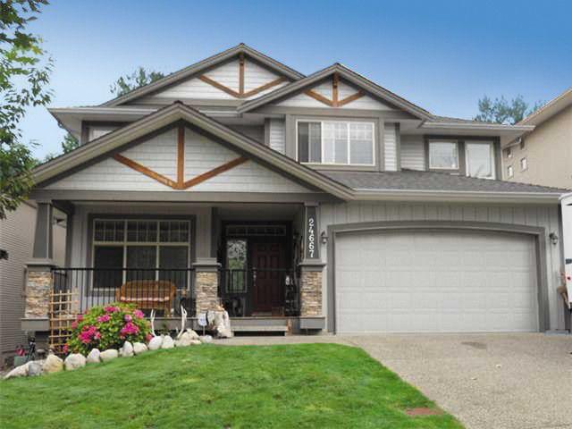 "Main Photo: 24667 106TH Avenue in Maple Ridge: Albion House for sale in ""MAPLECREST"" : MLS®# V1059116"