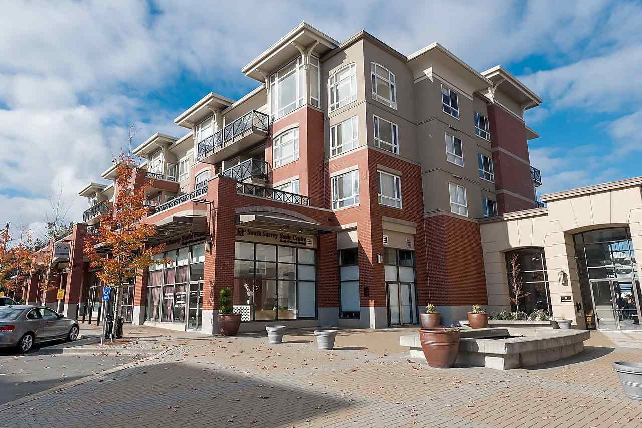 """Main Photo: 103 2970 KING GEORGE Boulevard in Surrey: Elgin Chantrell Condo for sale in """"WATERMARK"""" (South Surrey White Rock)  : MLS®# R2011734"""