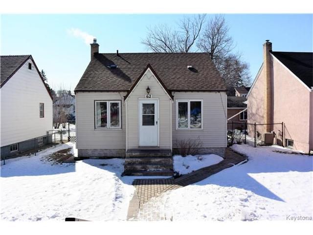 Main Photo: 62 Armstrong Avenue in Winnipeg: Scotia Heights Residential for sale (4D)  : MLS®# 1705385