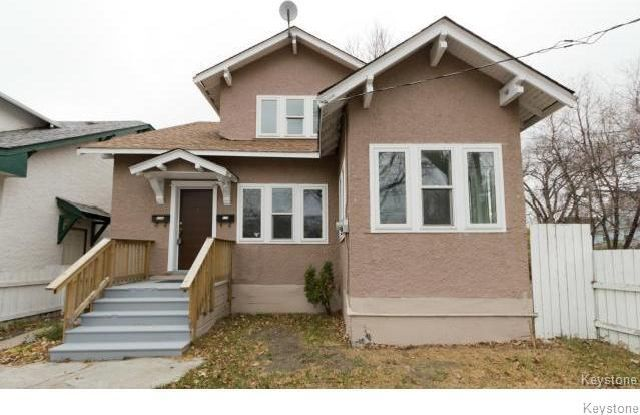 Main Photo: 419 College Avenue in Winnipeg: North End Residential for sale (4A)  : MLS®# 1706149