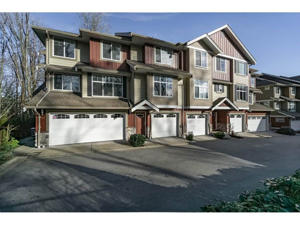 "Main Photo: 72 3009 156 Street in Surrey: Grandview Surrey Townhouse for sale in ""Kallisto"" (South Surrey White Rock)  : MLS®# R2239407"