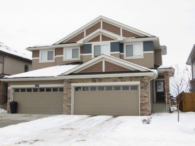 Main Photo: 6660 CARDINAL Road in Edmonton: Zone 55 House Half Duplex for sale : MLS®# E4138617