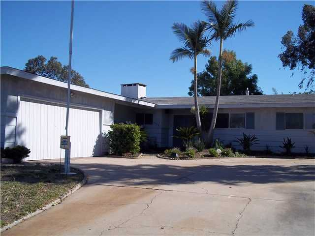 Main Photo: LA JOLLA House for sale or rent : 4 bedrooms : 5878 Soledad Mountain Road