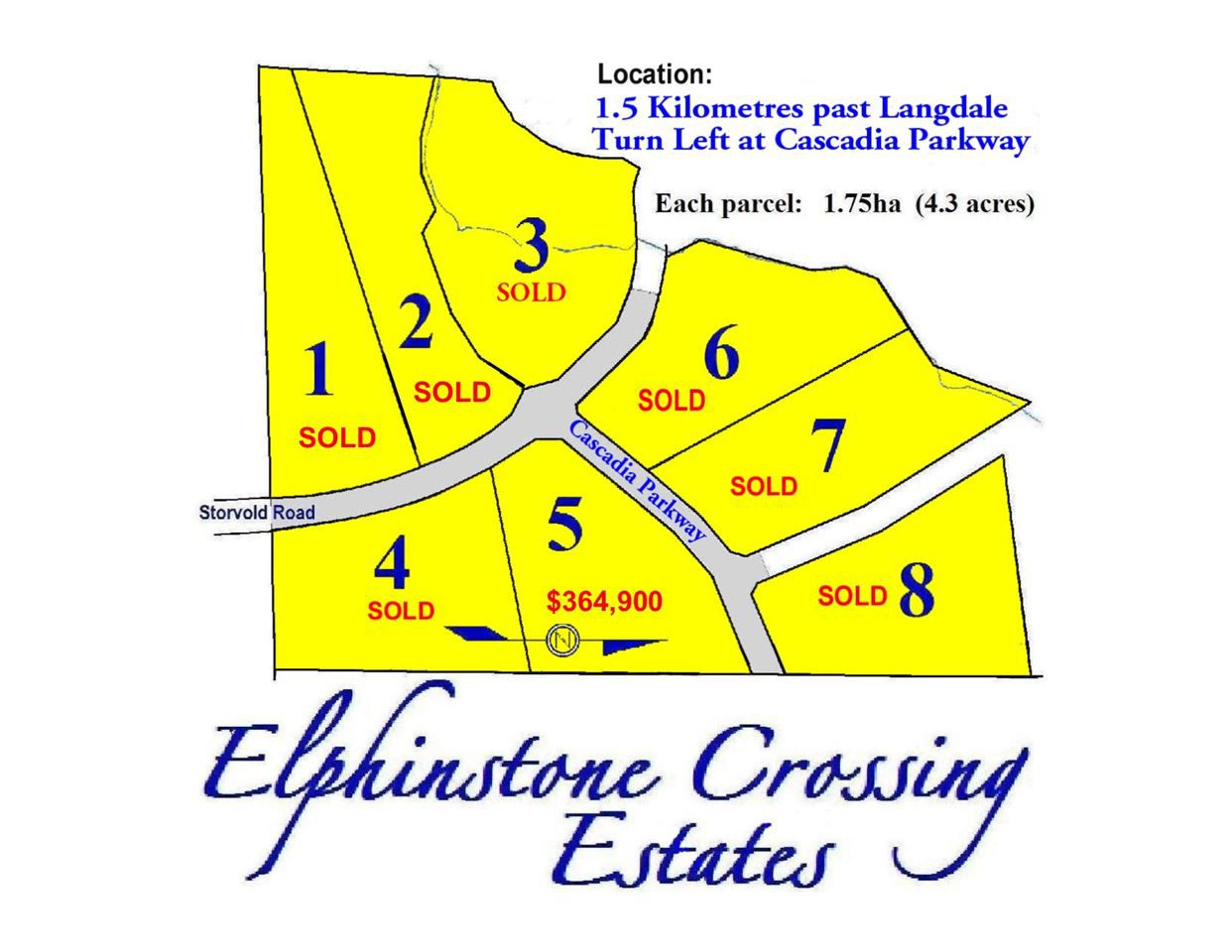 """Main Photo: LOT 5 CASCADIA PARKWAY in Gibsons: Gibsons & Area Home for sale in """"ELPHINSTONE CROSSING"""" (Sunshine Coast)  : MLS®# V1093006"""
